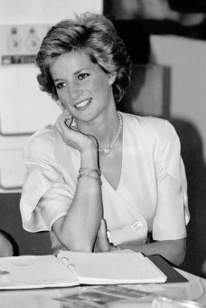 HRH Diana Princess of Wales,1988.