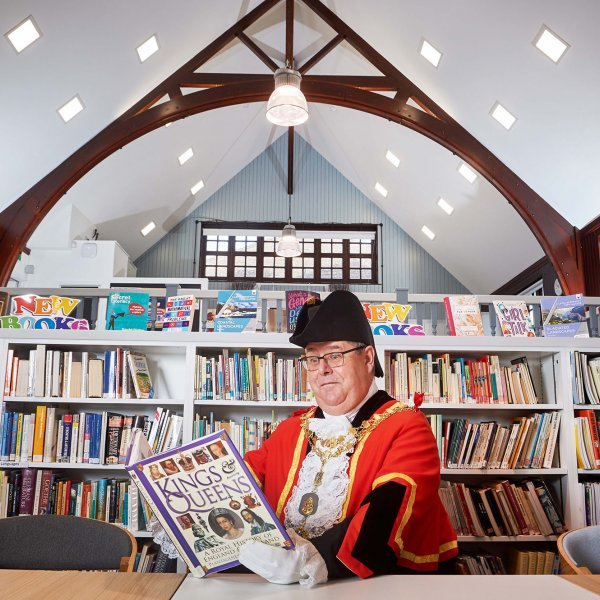 Library_Opening_SJ_013  © Licensed to simonjacobs.com. 07/02/2019 Northwood, UK.